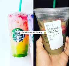 Starbucks Customers Are Posting Photos Of Their Matcha Pink Drink Fails
