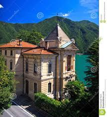 100 Villa Lugano In City Stock Image Image Of Villa Palace