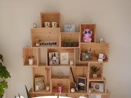 caisse a vin en bois attrayant peindre meuble bois vernis 11 d233coration faire un