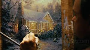 Thomas Kinkade Christmas Tree Cottage by Thomas Kinkade U0027s Christmas Cottage Blu Ray