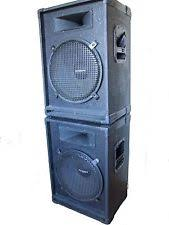 2x10 Bass Cabinet 8 Ohm by Bass Cabinet Pro Audio Equipment Ebay