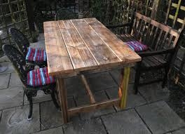 Build Outside Wooden Table by Outdoor Wooden Bench Plans To Build Bench Decoration