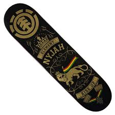 element nyjah huston rise up deck in stock at spot skate shop