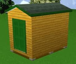 8x12 Storage Shed Blueprints by 8x12 Storage Shed Plans Package Blueprints Material List