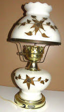 Underwriters Laboratories Portable Lamp Brass by Milk Glass Lamp Ebay
