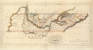 The territory of Tennessee originally consisted of six counties Washington Sullivan Greene Davidson Sumner and Tennessee later Montgomery