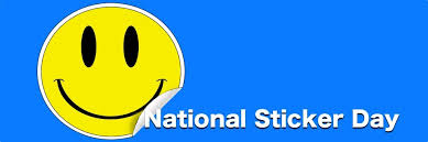 January 13 National Sticker Day