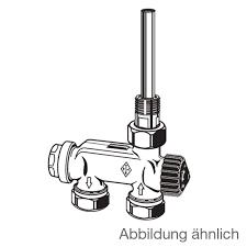 heimeier e z ventil mit einpunktanschluss einrohrsystem