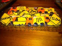 100 Dump Truck Cookies Caution Sugar Sugar Cookies