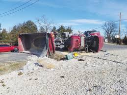 Overturned Dump Truck Results In Minor Injuries   News ... Dump Truck For Sale In Missouri Ud Trucks Wikipedia 1970 American Lafrance Fire Cversion Custom 2005 Kenworth T300 For Sale Auction Or Lease Kansas City Shacman Shaanxi Sx3315dr366 Dump Trucks Tipper Truck Freightliner Columbia Cars Cat Excavator Lift Dirt And Drops Into Slowmo Stock Equipmenttradercom Ford Work Boston Ma 1978 Gmc General Sold At Auction November 15