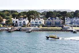 100 Sandbank Houses Millionaires Row In S Dorset Is The Worlds Most Expensive