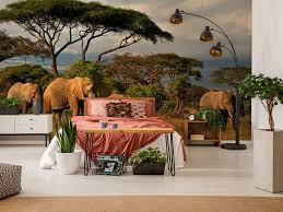 elefanten fototapete 3 ideen für die wohnzimmerdekoration