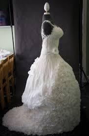 Weddible Dress wedding cake created by Sylvia Elba Yvette Marner