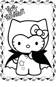 Free Coloring Pages Halloween Disney Hello Kitty Costume Masks Printable Ghosts