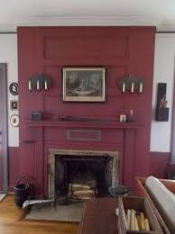 Primitive Living Room Wall Colors by 71 Best Fireplace Ideas Images On Pinterest Colonial Decorating