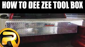 How To Install Dee Zee Truck Bed Tool Box - YouTube