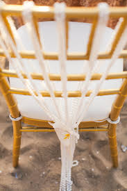 Pearl And Orchid Chair Decorations