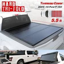 100 F 150 Truck Bed Cover Tonneau 20042019 Ord 55ft Aluminum Hard Triold