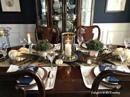 Thanksgiving Table Setting In A Navy Dining Room - Calypso In The ... Christmas Lunch Laid On Farmhouse Table With Gingham Tablecloth And Rustic Country Ding Room With Wooden Table And Black Chairs 100 Cotton Gingham Check Square Seat Pad Outdoor Kitchen Chair Cushion 14 X 15 Beige French Lauras Refresh A Beautiful Mess Bglovin Black White Curtains Home Is Where The Heart Queen Anne Ding Chairs Painted Craig Rose Pale Mortlake Cream Laura Ashley Gingham Dark Linen In Cinderford Gloucestershire Gumtree 5 Top Tips For Furnishing Your Sylvias Makeover Emily Henderson