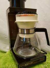 NORELCO Dial A Brew II Coffee Maker 10 CUP Vntage Retro USA Clean