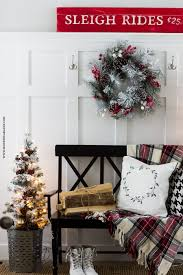White Flocked Christmas Tree Walmart by Turn A 10 Walmart Tree Into A Flocked Tree Honeybear Lane