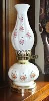 Ebay Antique Table Lamps by Fenton Charleton Rose Milk Glass 12 5