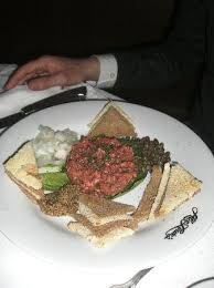 abe cuisine steak tartar at abe louie s boston picture of abe louie s