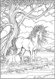 Hard Unicorn Coloring Pages Best Unicorns Images On Printable Pdf