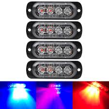 Hot Sale 4LED Ultra-thin Strobe Light 12-24V Car Motorcycle Side ... Light Truck Strobe Ford Expands Firstever Factoryinstalled Warning Led Lights 12v 24v 18w 6 Waterproof Car Emergency Beacon Cyan Soil Bay 4 Rv Flash Bar 2016 F150 Adds Builtin For Fleet Vehicles Hideaway Automotives Hideaway Mini Vehicle Trailer Round Led For Trucks 4428 Watch Now Accsories 54 Blue Red Nwhosale New 2 X 48 96led Flashing 4led 19 Function Parts 26422rd Recon 2x22 Flasher Lamp Bars With