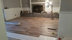 Laminate Flooring Bubbles Due To Water by Diy Laminate Flooring Installation My Experiences