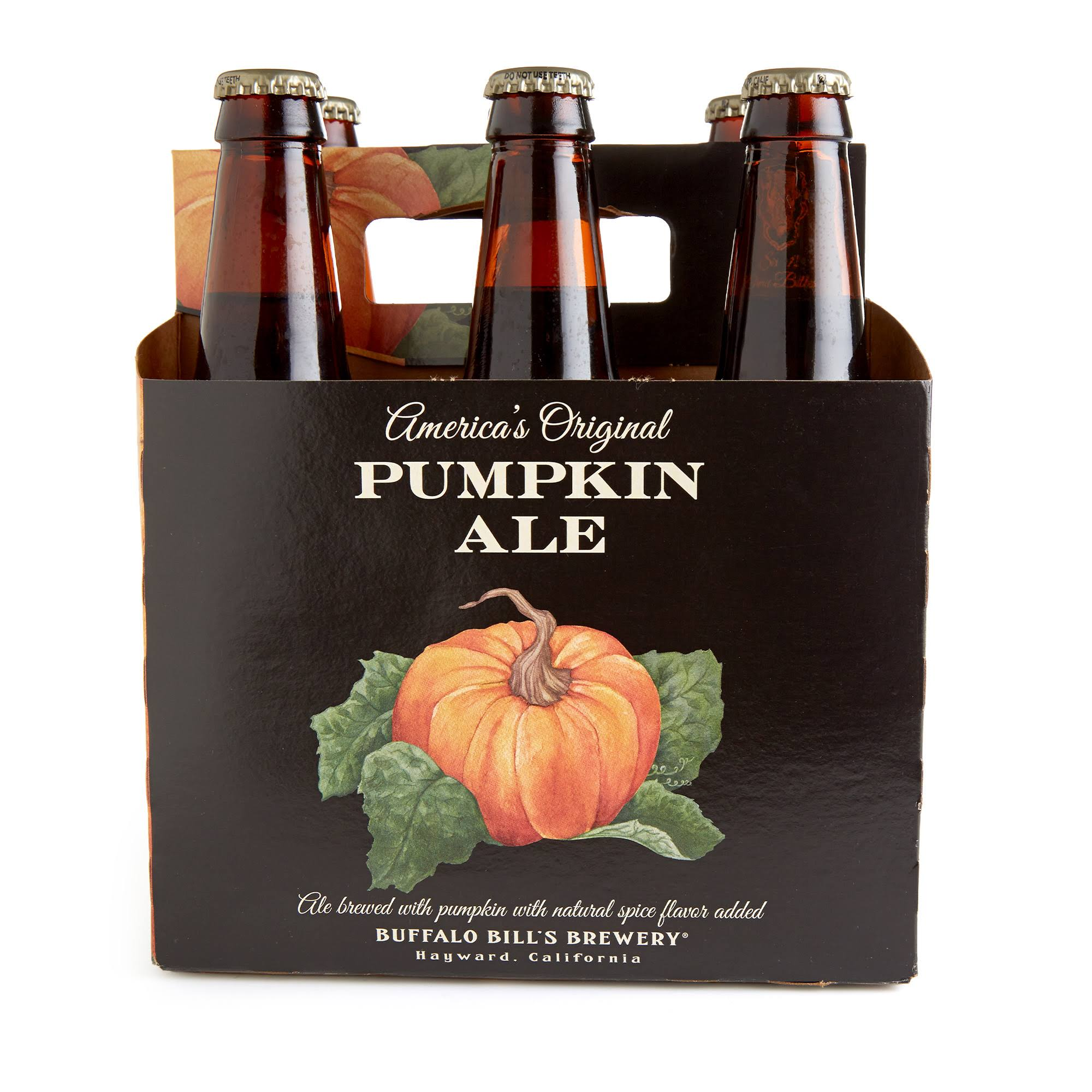 Buffalo Bills Americas Original Pumpkin Ale - 12oz, 6pk