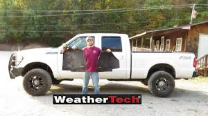 Weathertech Floor Mats 2015 F250 by F 250 Gets Some Weathertech Floormats Youtube