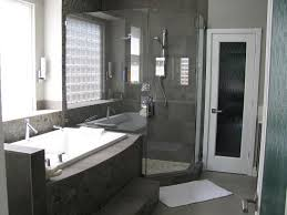 Modern Master Bathroom Images by Modern Master Bath Renovation Tile And Slate Walls Floors In Hues