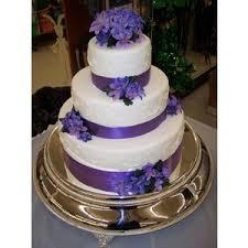 Purple Ribbon Cake