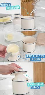 Butter Bell Butter Crock Butter keeper ensures soft butter