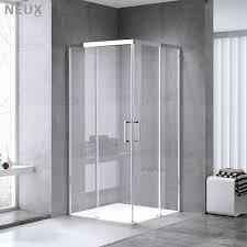 europäische quadrat form schiebe glas tür ecke bad dusche kabine für bad buy bad dusche kabine dusche kabine bad glas duschkabine product on
