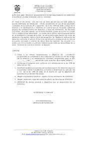 Carta Poder Colombia Modelo
