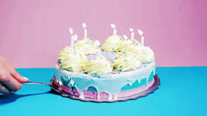 Birthday Cake GIF by GIPHY Studios Originals