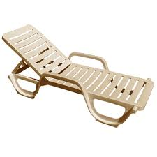 Bahia Stacking Adjustable Chaise Lounge 6 Pack