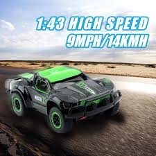 8.99 GBP - 2.4G 1/43 Speed Rc Racing Car Rally Monster Truck Remote ...