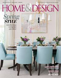 100 Home And Design Magazine Soft Hues Distinguish A Chic Dining Room Designed By Erica