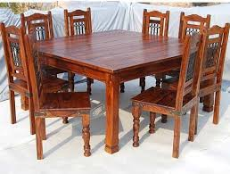 Excellent Decoration Maple Dining Table Set Philadelphia 9 Pc Square Room And Chair
