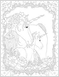 Coloring Unicorn Wings Pages Pictures Of Unicorns To Color Colouring Sheets Print