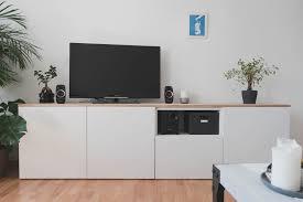 ikea bestå diy sideboard fürs wohnzimmer zimtsternin
