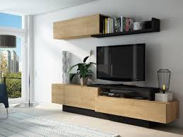 tv wand mit stauraum monty eichenholzfarben anthrazit