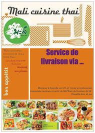 mali cuisine mali cuisine thaï à 13 carte menu et photos