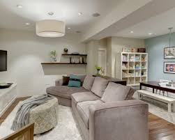 Living Room Decorating Brown Sofa by Home Interiors Small Basement Family Room Ideas Cozy Family Room