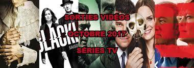 les sorties dvd du mois de octobre 2017 séries tv