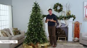Home Depot Ge Pre Lit Christmas Trees by Belham Living 7 5 Ft Classic Mixed Needle Pre Lit Full Christmas