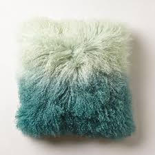 Ombre Luxe Fur Pillow So That s Cool